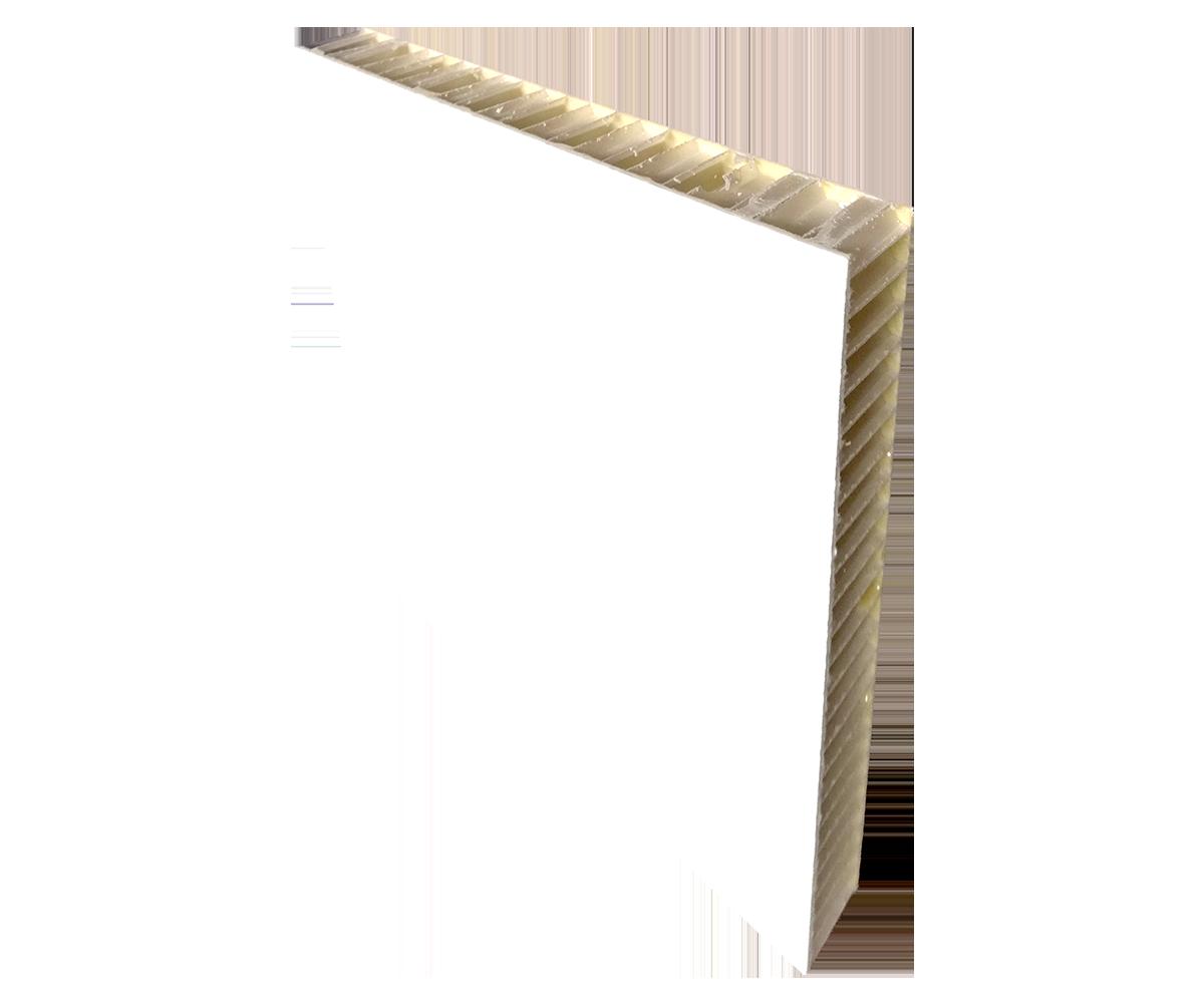 Panel tl. 23 mm - jádro PP voština + potah laminát LAMILUX